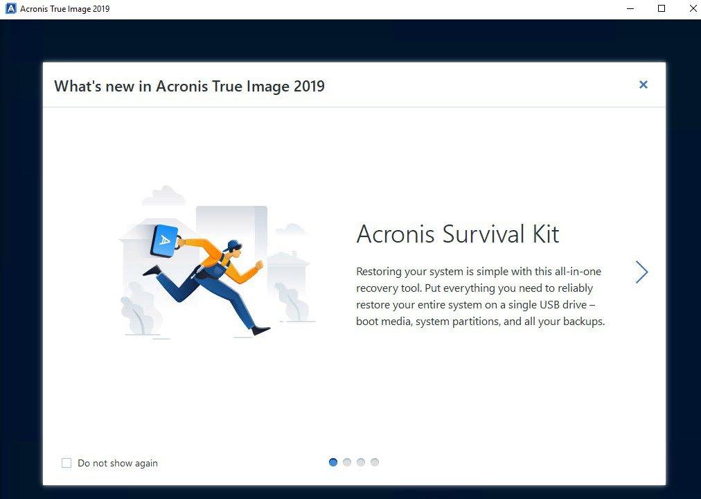 Acronis True Image App Preview