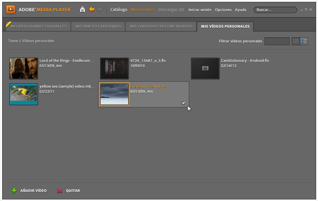 Adobe Media Player App Latest Version for PC Windows 10
