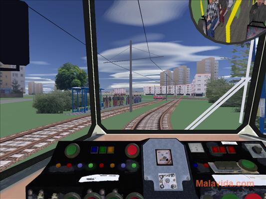 Advanced Tram Simulator App Preview