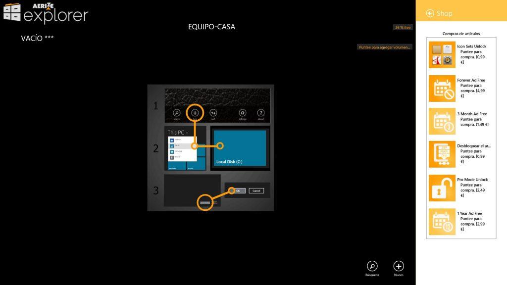 Aerize Explorer App Latest Version for PC Windows 10