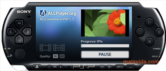 ALLConverter to PSP App Latest Version for PC Windows 10