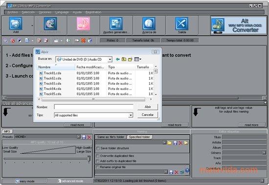 Alt CDA to MP3 Converter App Latest Version for PC Windows 10