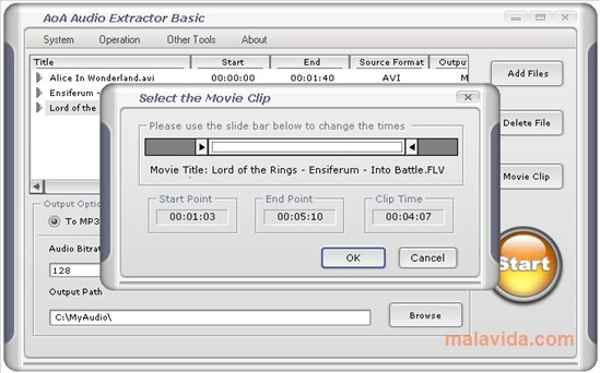 AoA Audio Extractor App Latest Version for PC Windows 10