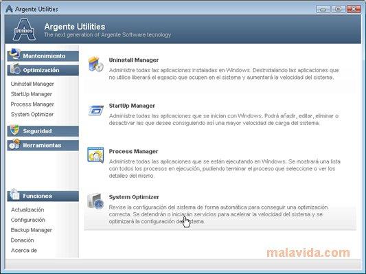 Argente Utilities App Latest Version for PC Windows 10