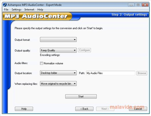 Ashampoo MP3 AudioCenter App Latest Version for PC Windows 10