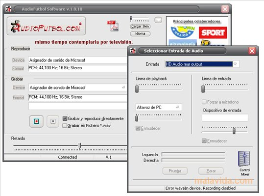 AudioFutbol App Latest Version for PC Windows 10