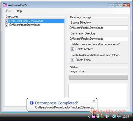 AutoWinRarZip App Latest Version for PC Windows 10