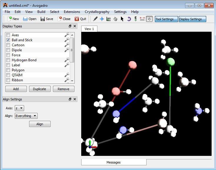 Avogadro App Preview