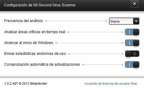 Bitdefender 60-Second Virus Scanner App Latest Version for PC Windows 10