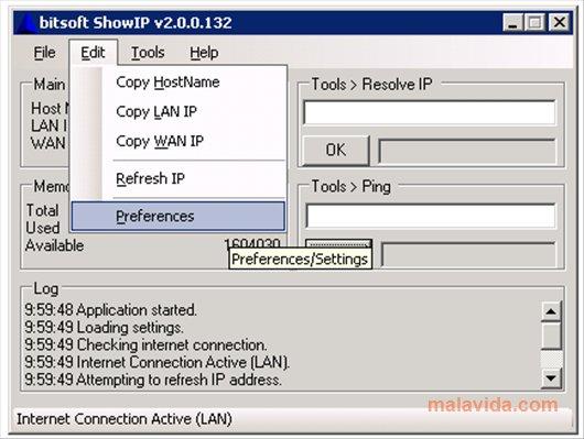 bitsoft ShowIP App Latest Version for PC Windows 10