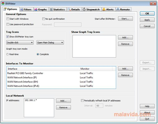BWMeter App Latest Version for PC Windows 10