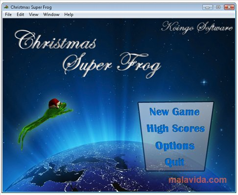 Christmas Super Frog App Latest Version for PC Windows 10