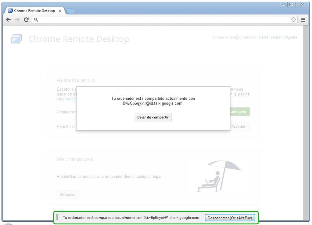 Chrome Remote Desktop App Preview