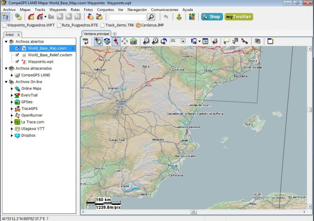 CompeGPS Land App Latest Version for PC Windows 10