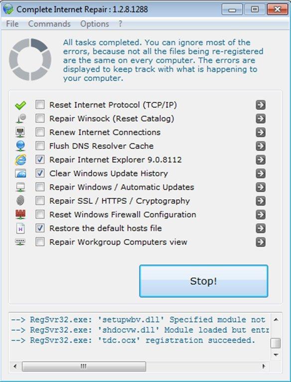 Complete Internet Repair App Latest Version for PC Windows 10