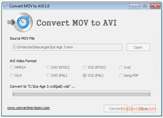 Convert MOV to AVI App Latest Version for PC Windows 10