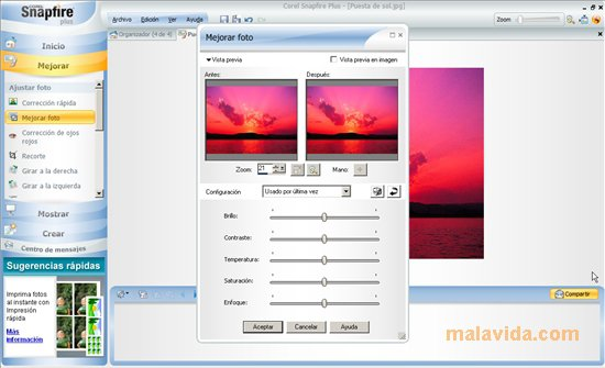 Corel Snapfire Plus App Latest Version for PC Windows 10
