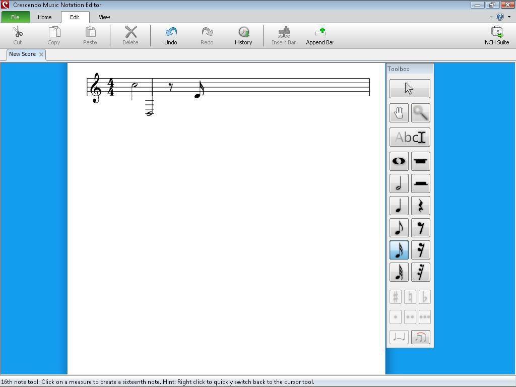 Crescendo Music Notation Editor App Latest Version for PC Windows 10
