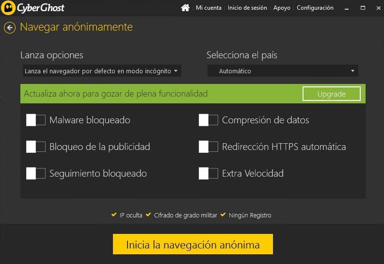 Cyberghost VPN App Preview