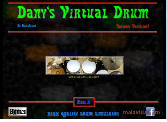 Dany's Virtual Drum App Latest Version for PC Windows 10