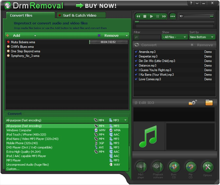 DRM Removal App Latest Version for PC Windows 10