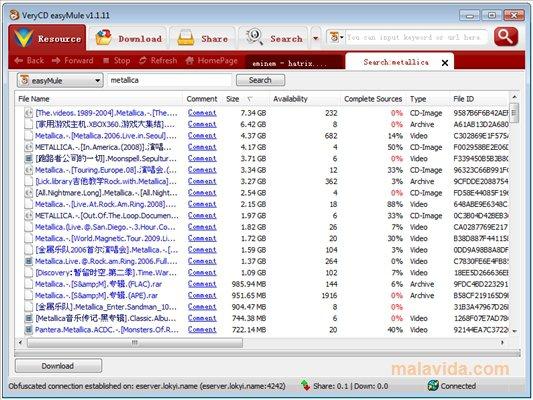easyMule App Latest Version for PC Windows 10