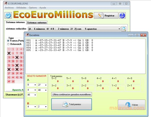EcoEuroMillions App Preview