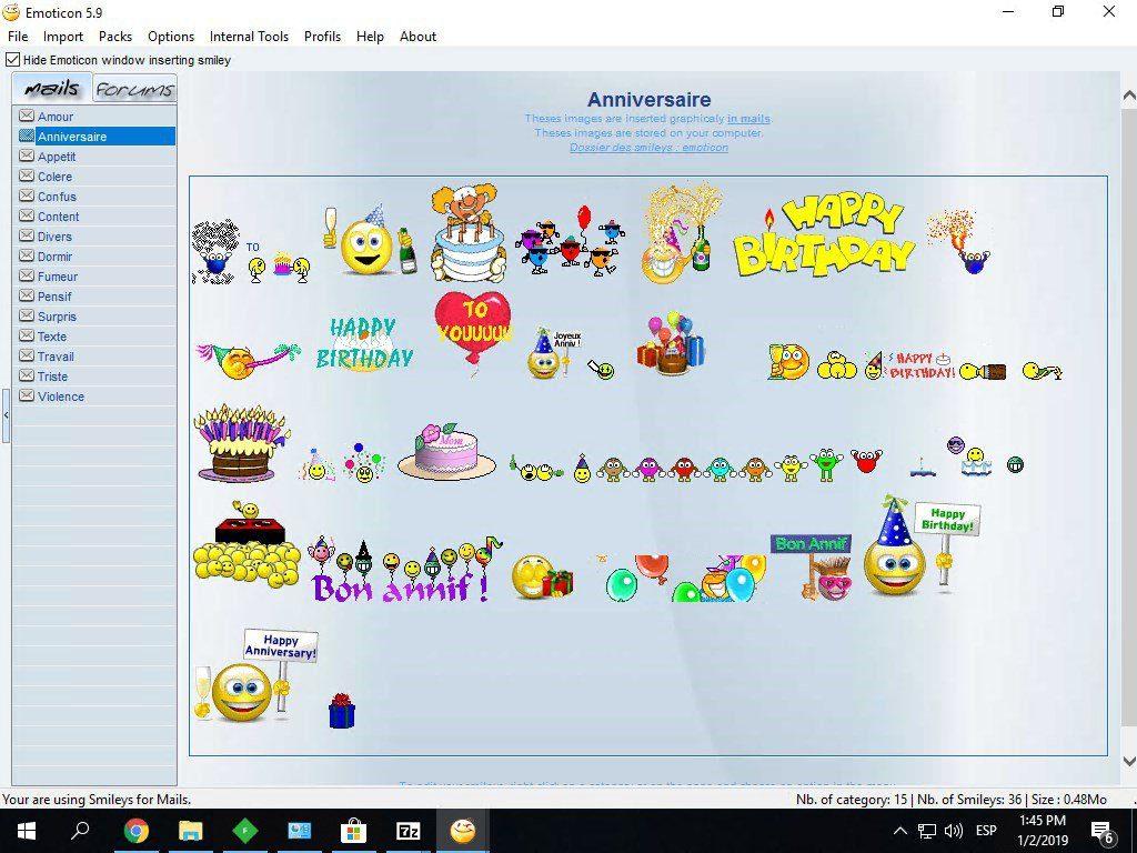 Emoticon App Latest Version for PC Windows 10