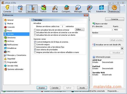 emulEspaña Server.met App Preview