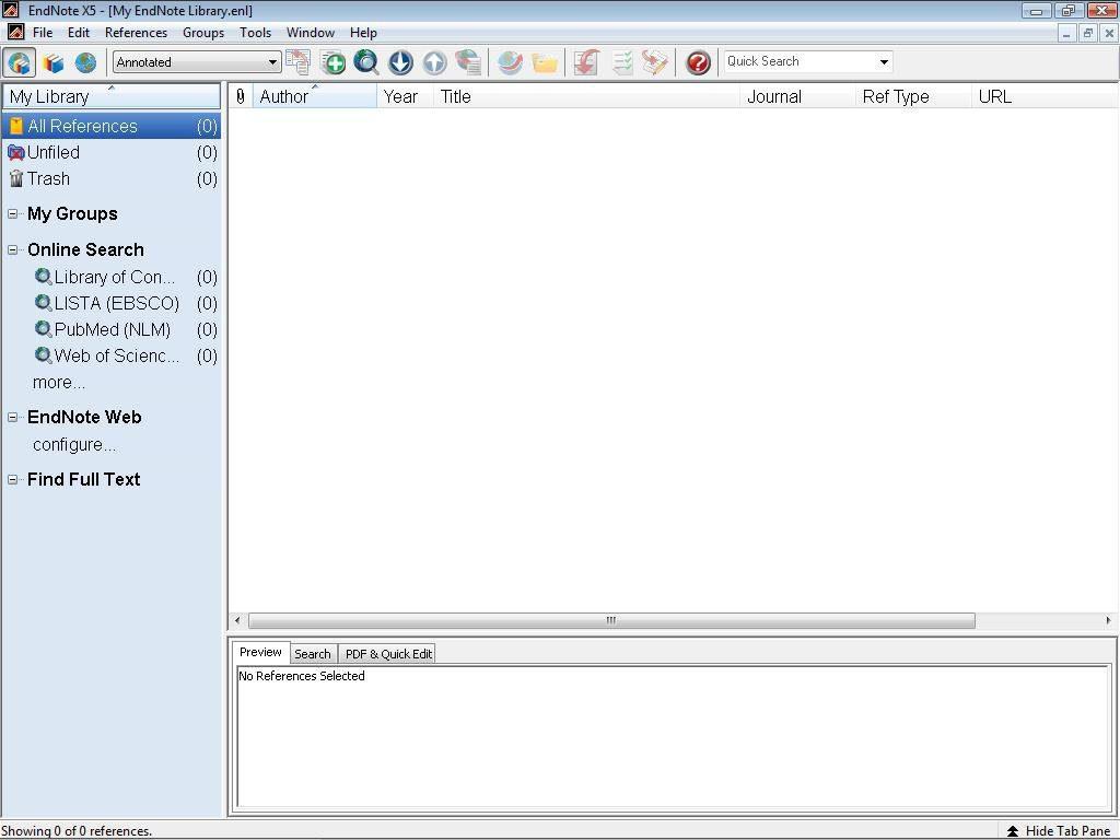 EndNote App Latest Version for PC Windows 10