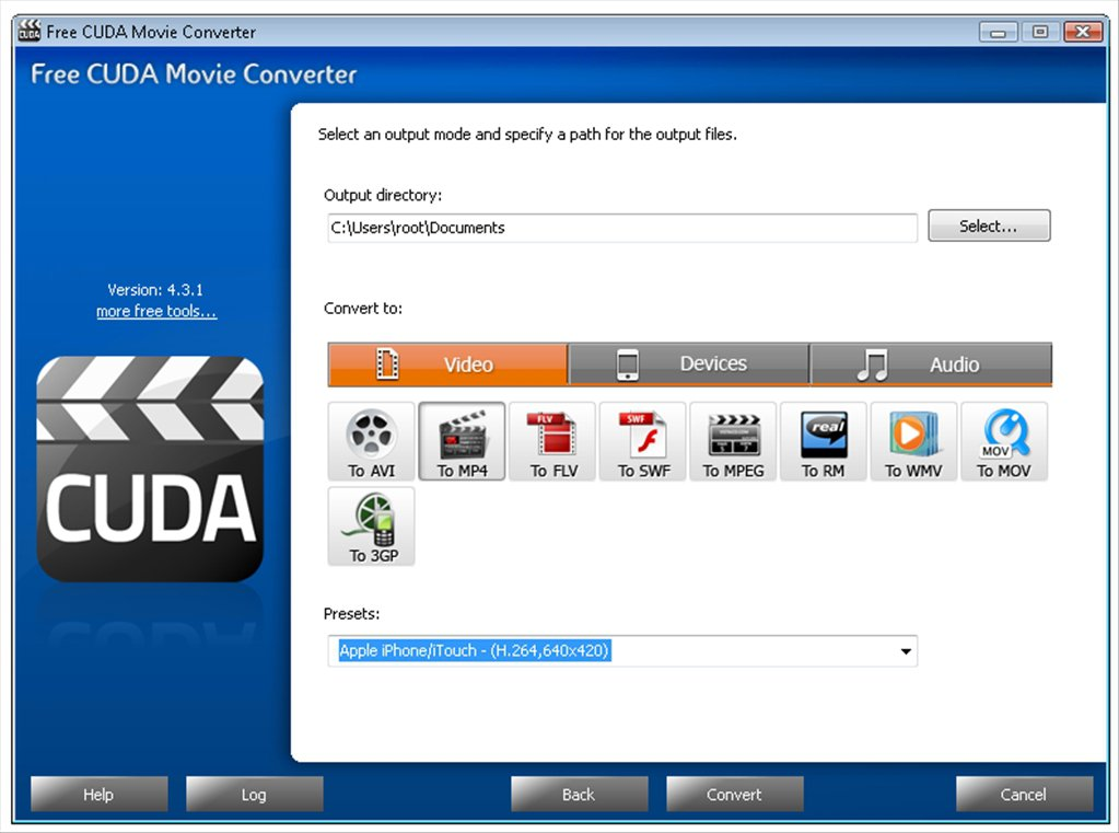Free CUDA Movie Converter App Latest Version for PC Windows 10