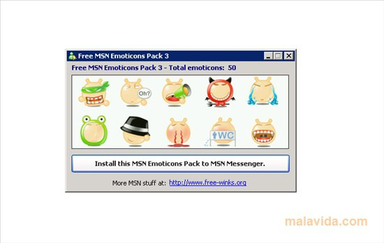 Free MSN Emoticons Pack 3 App Latest Version for PC Windows 10