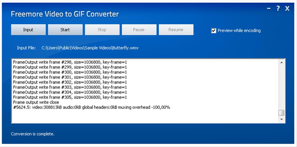 Freemore Video to GIF Converter App Latest Version for PC Windows 10