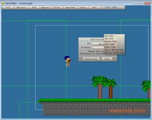 Game Editor App Preview