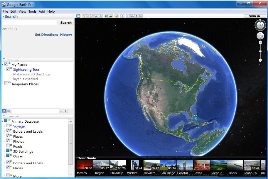 Google Earth Pro App Preview