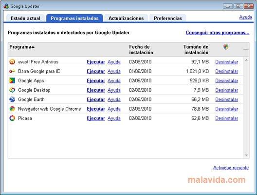 Google Updater App Latest Version for PC Windows 10