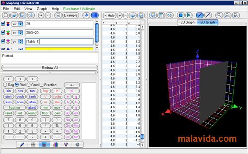 Graphing Calculator 3D App Preview