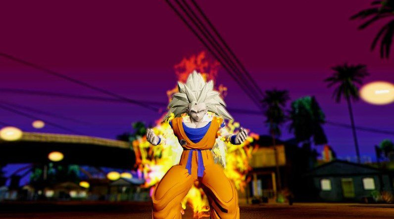 GTA San Andreas Dragon Ball Transformation Mod App Preview