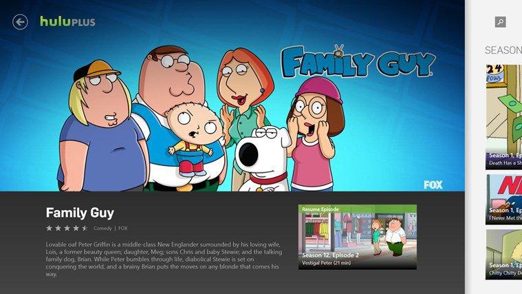 Hulu Plus App Preview