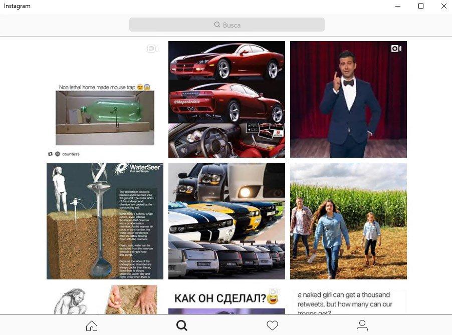 Instagram App Preview