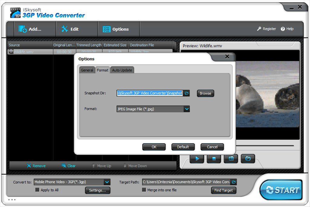 iSkysoft 3GP Converter App Latest Version for PC Windows 10