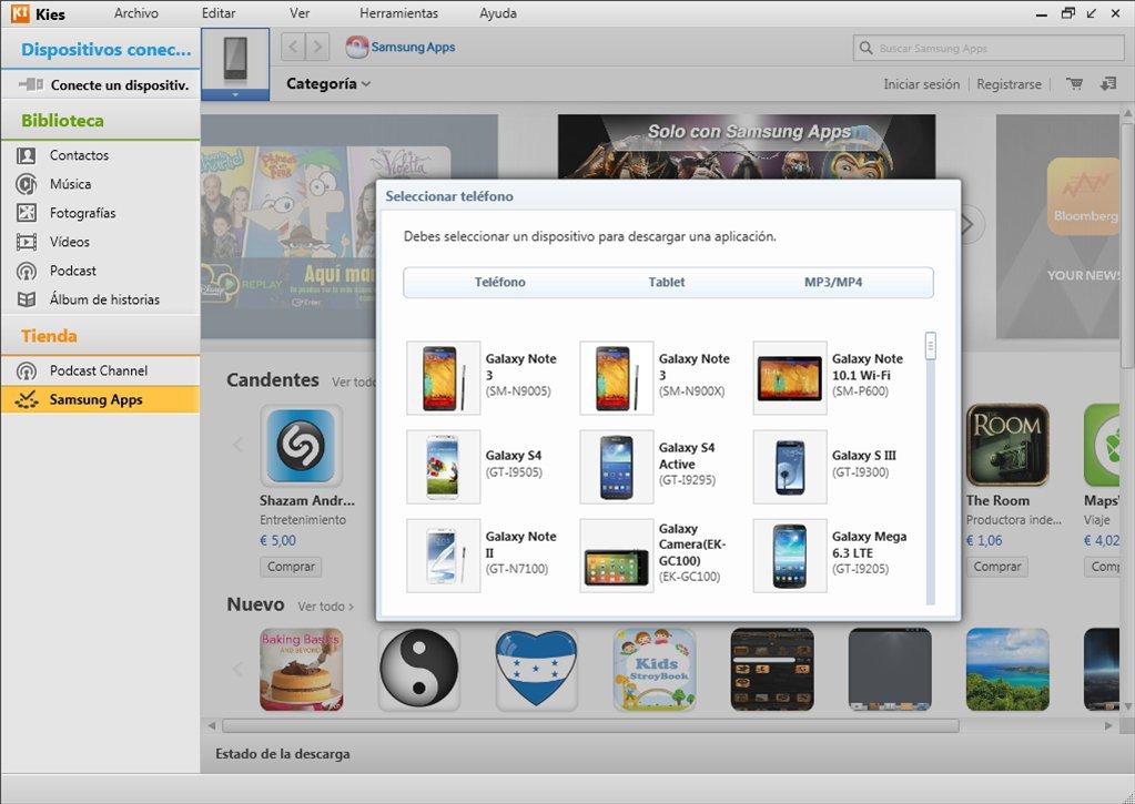 Samsung Kies App Preview
