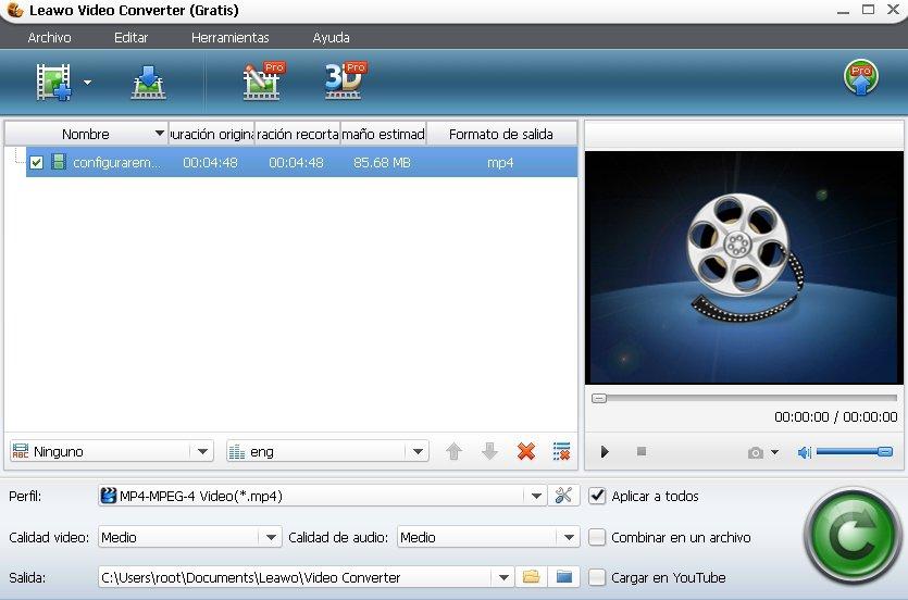 Leawo Video Converter App Latest Version for PC Windows 10