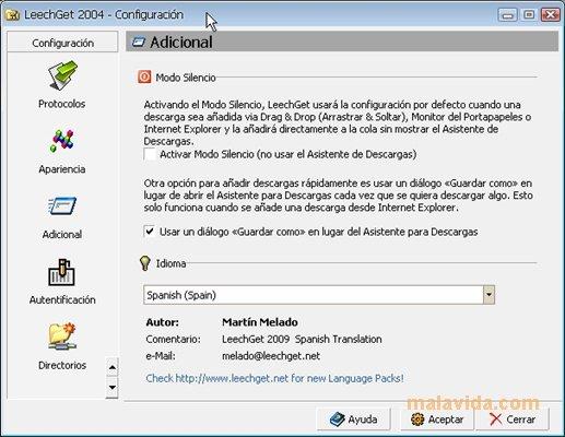 LeechGet App Latest Version for PC Windows 10