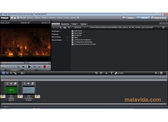 Magix Video deluxe App Preview