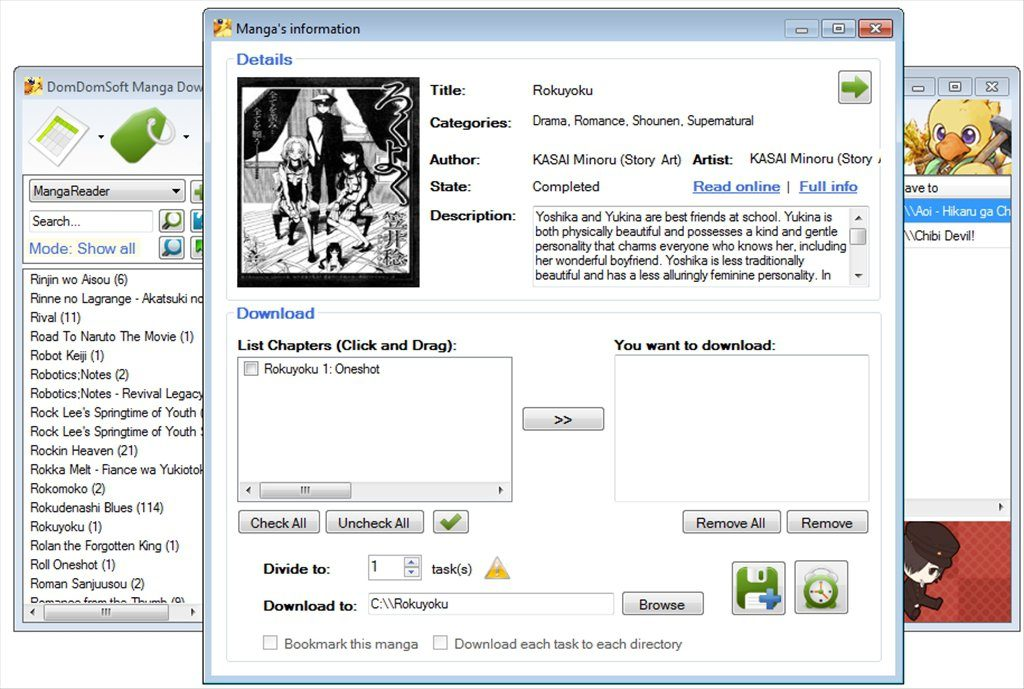 Manga Downloader App Latest Version for PC Windows 10