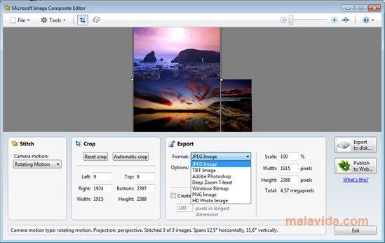 Microsoft Image Composite Editor App Latest Version for PC Windows 10