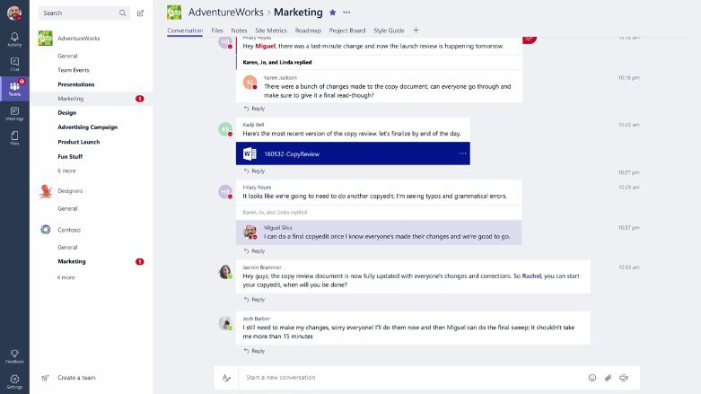 Microsoft Teams 64 bits App Latest Version for PC Windows 10