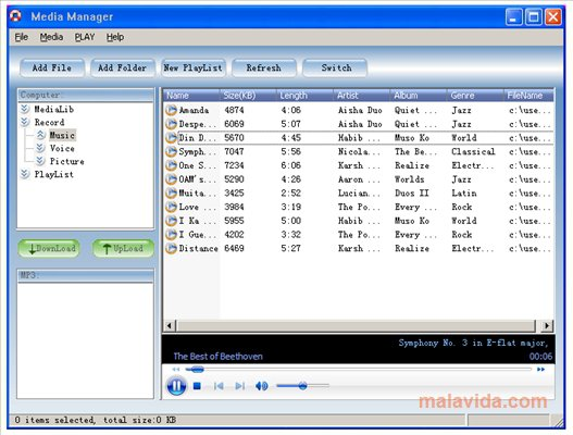 MP3 Player Utilities App Latest Version for PC Windows 10