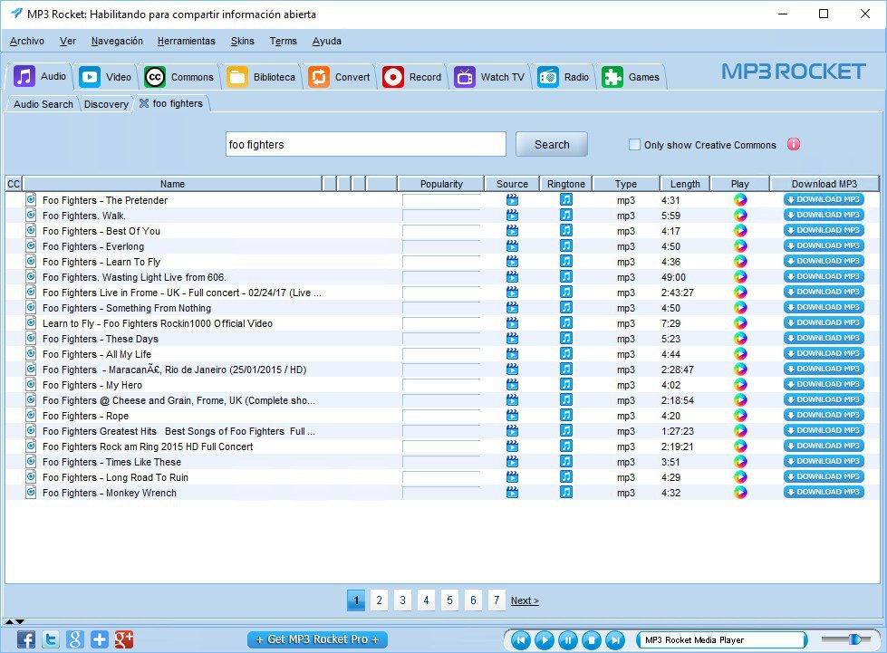 √ MP3 Rocket App Free Download for PC Windows 10